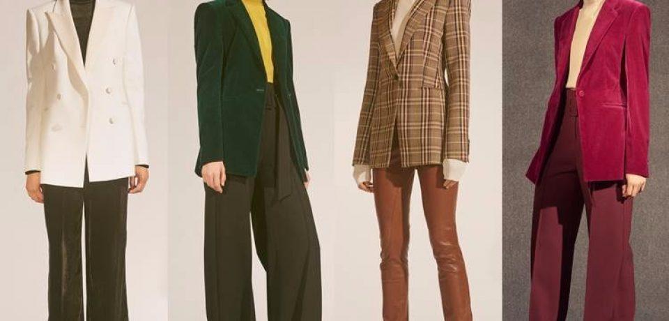 Модные жакеты и пиджаки осень-зима 2017-2018