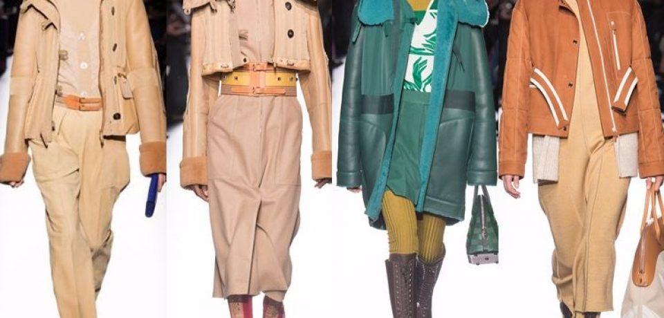 Модные женские дублёнки осень-зима 2017-2018