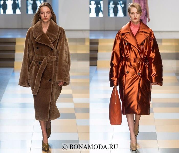 Осень 2017 Верхняя Одежда Женская