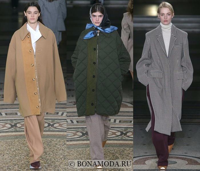 Модные женские пальто осень-зима 2017-2018: бежевое, серое и хаки Stella McCartney