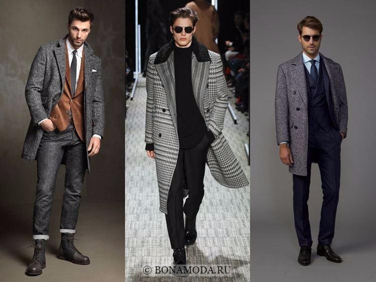 Мужская мода осень-зима 2017-2018: элегантные костюмы и пальто