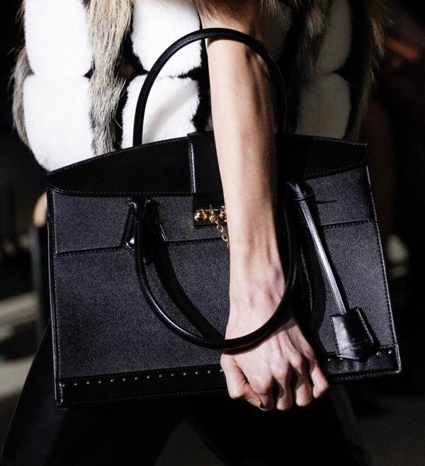 Сумки Louis Vuitton осень-зима 2017-2018: кожаная черная классический элегантный стиль