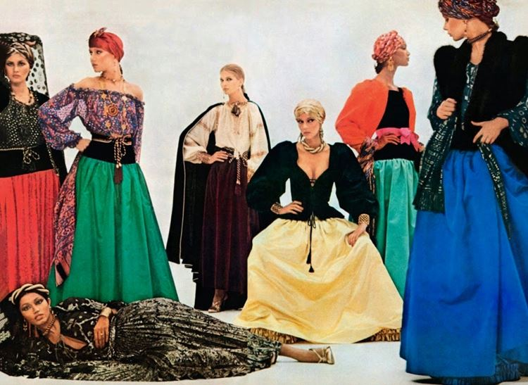 "Коллекция Yves Saint Laurent ""Ballet Russes"" 1976 года"