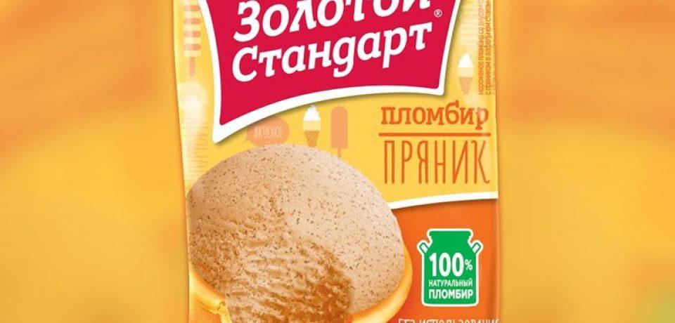 «Золотой стандарт с пряником» — пломбир в традиционном русском стиле