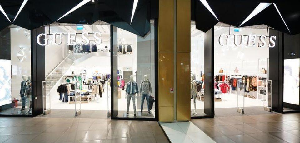 GUESS открывает флагманский магазин в Санкт-Петербурге