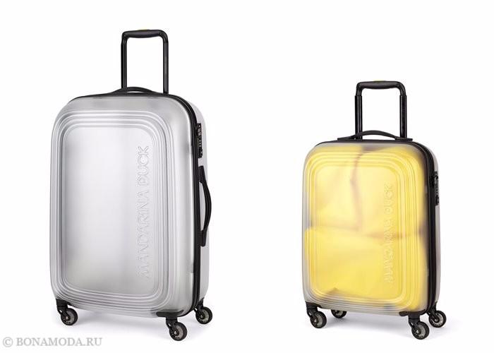 Коллекция сумок Mandarina Duck осень-зима 2017-2018: чемоданы