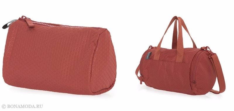 Коллекция сумок Mandarina Duck осень-зима 2017-2018: мягкие оранжевые