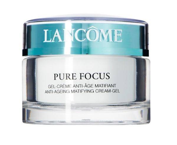 Кремы для жирной кожи: гель-крем антивозрастной матирующий Lancôme Pure Focus