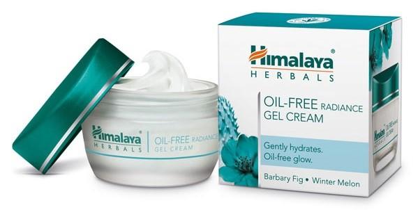 Кремы для жирной кожи: крем-гель без масел для сияния Himalaya Herbals