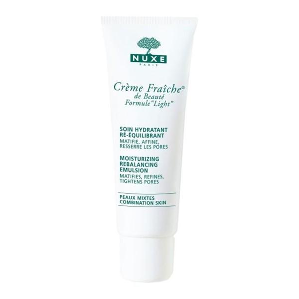 Кремы для жирной кожи: легкий сужающий поры Nuxe Crème Fraîche de Beauté Light