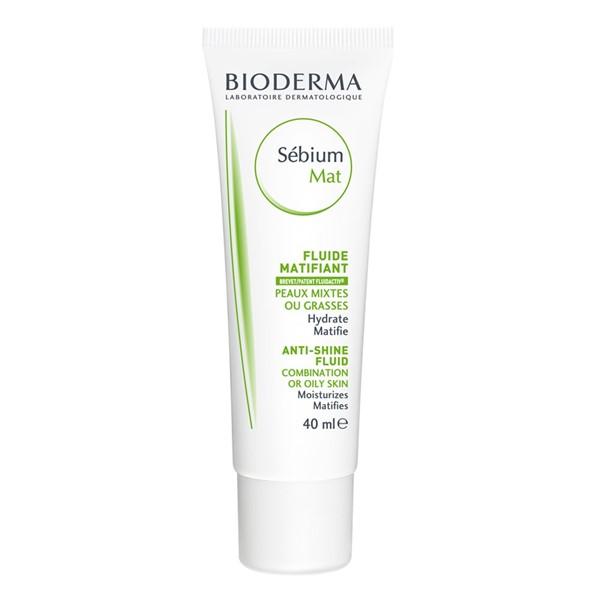Кремы для жирной кожи: матирующий флюид Bioderma Sébium MAT