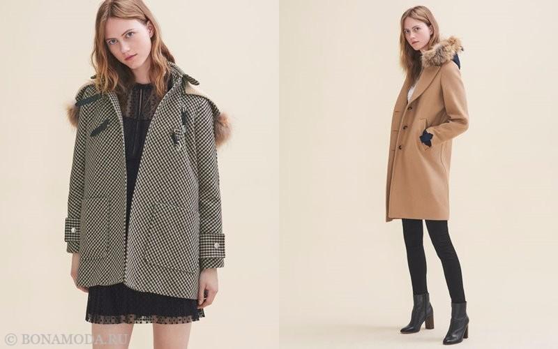 Лукбук коллекции Maje осень-зима 2017-2018: короткие осенние пальто
