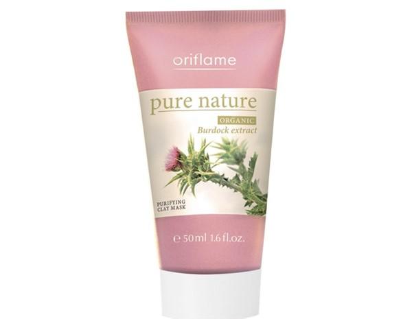 Маски для жирной проблемной кожи: Органическая маска Oriflame