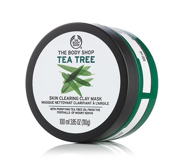Маски для жирной проблемной кожи: Маска «Масло чайного дерева» The Body Shop