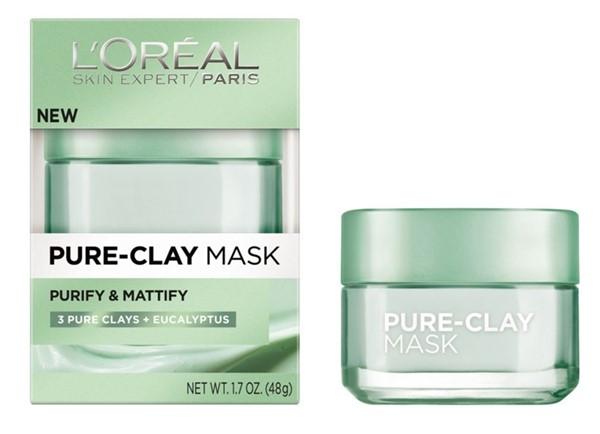 Маски для жирной проблемной кожи: Очищающая матирующая маска L'Oréal