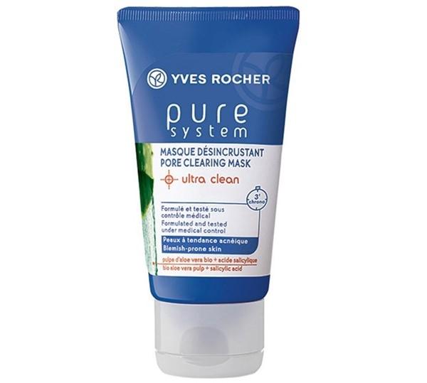 Маски для жирной проблемной кожи: Очищающая противоугревая маска Yves Rocher