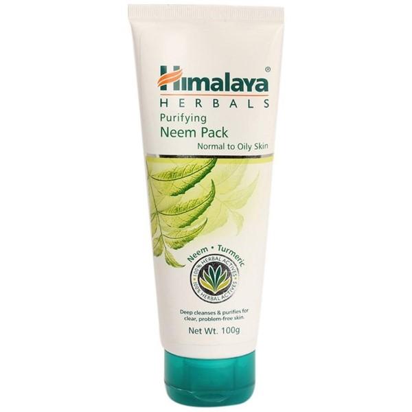Маски для жирной проблемной кожи: Маска Himalaya Herbals с маслом ним и куркумой