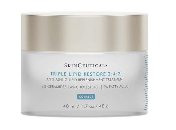 Питательные кремы для сухой кожи: Восстанавливающие крем Skinceuticals