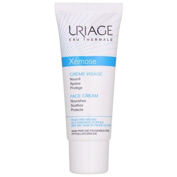Питательные кремы для сухой кожи: восстанавливающий крем Uriage