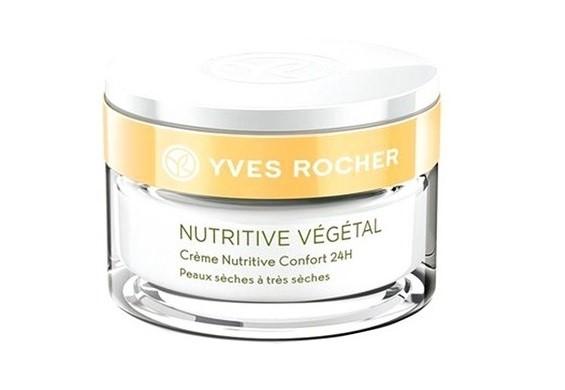 Питательные кремы для сухой кожи: Крем Yves Rocher «Ультракомфорт 24 часа»