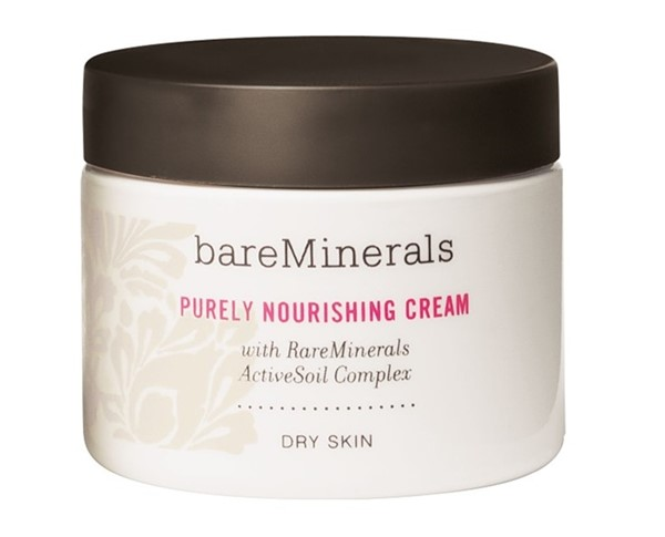 Питательные кремы для сухой кожи: Минеральный крем bareMinerals