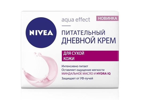 Питательные кремы для сухой кожи: дневной крем Nivea