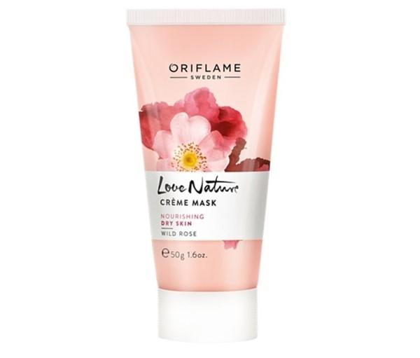Питательные маски для сухой кожи - Маска с экстрактом дикой розы Oriflame