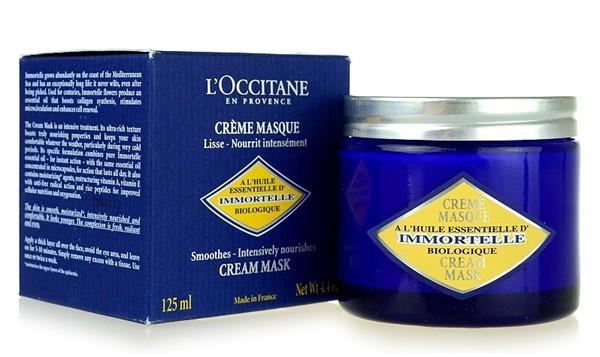 Питательные маски для сухой кожи - Маска с маслом ши L'Occitane