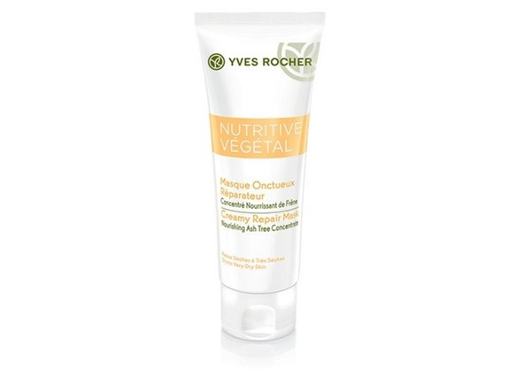Питательные маски для сухой кожи - Восстанавливающая маска «Интенсивное Питание» Yves Rocher