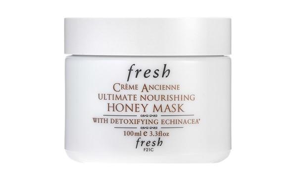 Питательные маски для сухой кожи - Органическая медовая маска Fresh