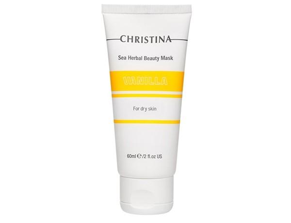 Питательные маски для сухой кожи - Ароматная ванильная маска Christina