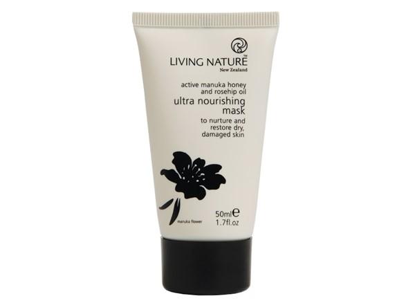 Питательные маски для сухой кожи - Регенерирующая маска Living Nature