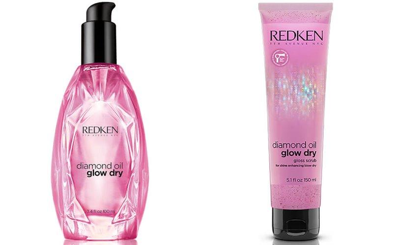 Diamond Oil Glow Dry – новая линия Redken - скраб и масло для волос