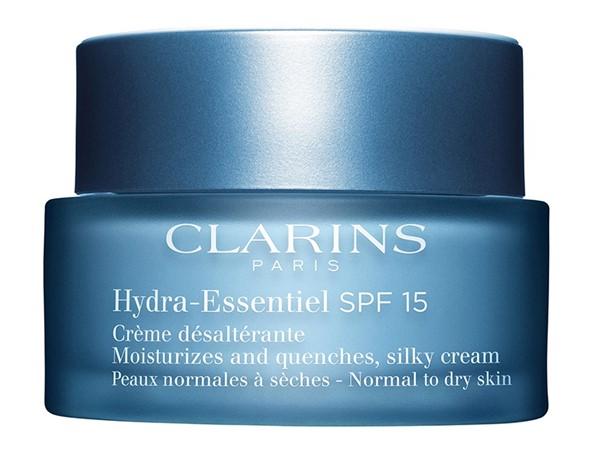 Увлажняющие кремы для сухой кожи: Шёлковый увлажняющий дневной крем Clarins с SPF