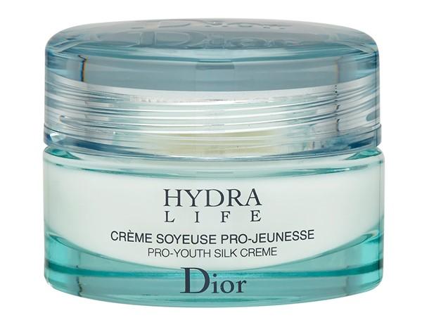 Увлажняющие кремы для сухой кожи: Омолаживающий шёлковый крем Dior