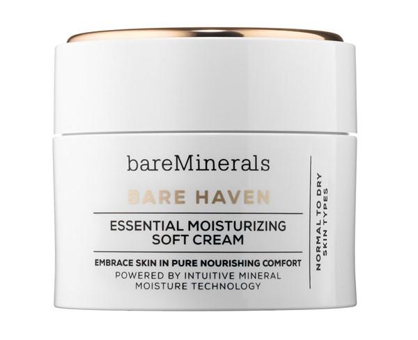 Увлажняющие кремы для сухой кожи: Увлажняющий крем с минералами bareMinerals