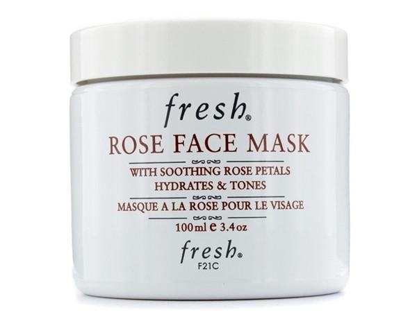 Увлажняющие маски для сухой кожи: Маска Fresh с лепестками розы