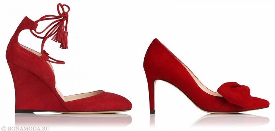 Замшевые туфли из коллекции L.K. Bennett лето-2017