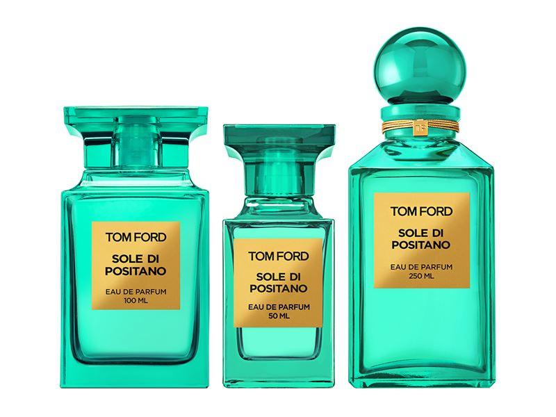 Цитрусовые ароматы 2017: Sole Di Positano (Tom Ford) – горький апельсин, лимон и калабрийский бергамот