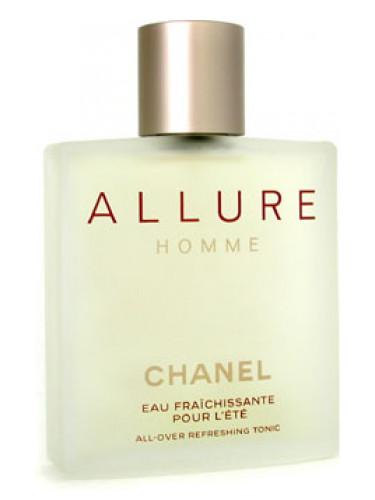 Мужские ароматы Chanel Allure Homme - Allure Homme L'Eau Fraichissante pour L'Eté (2002) - восточный древесно-цитрусовый