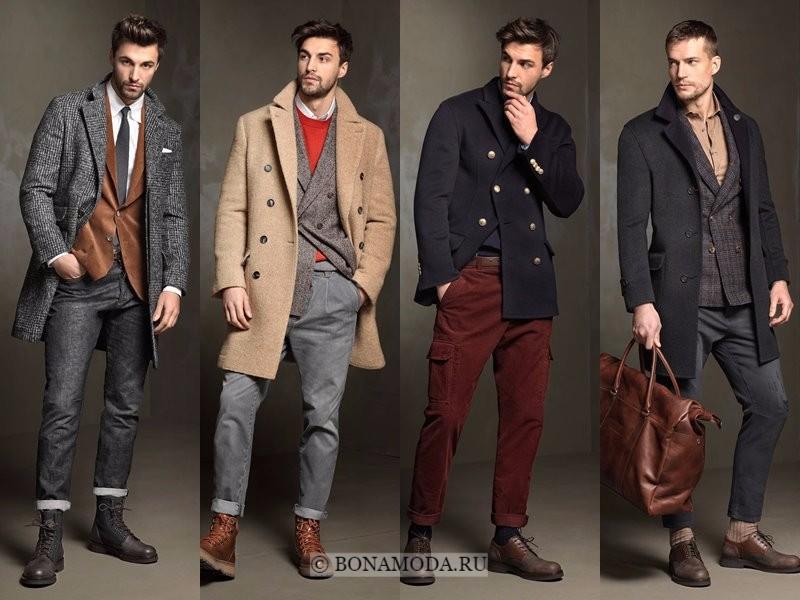 Модное мужское пальто осень зима 2018 2018