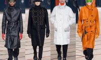 Мужские пальто из коллекций осень-зима 2017-2018