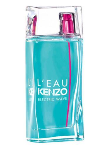 Новые ароматы Kenzo 2016-2017: L'Eau par Kenzo Electric Wave Pour Femme - белые цветы и акватические ноты