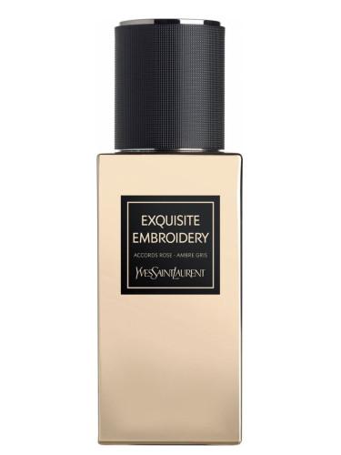 Новые ароматы Yves Saint Laurent 2016-2017 - Exquisite Embroidery - пряный имбирный мускусный