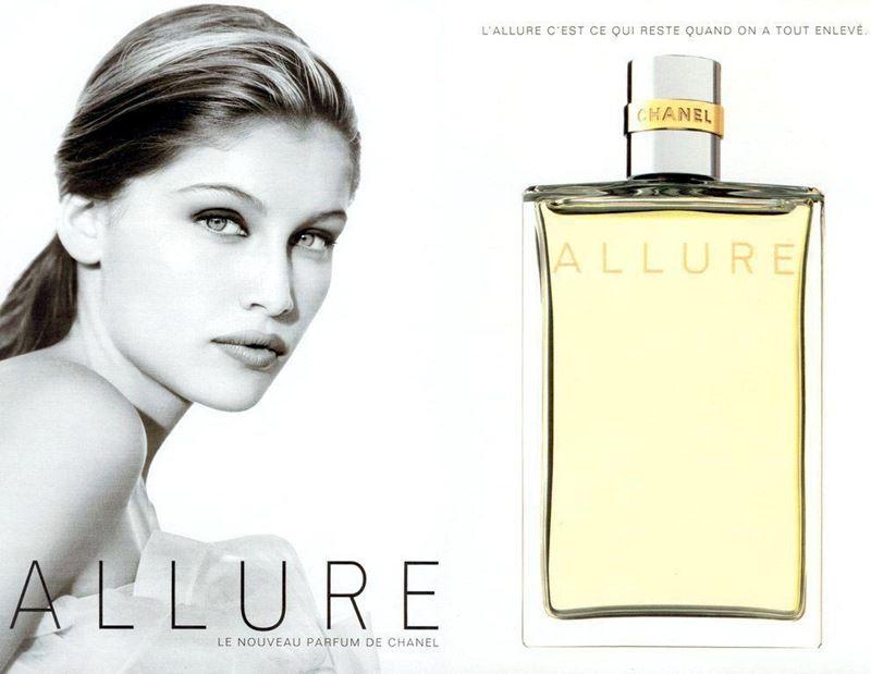 Женские ароматы Chanel Allure - Allure (1996) - фруктовые ноты и белые цветы