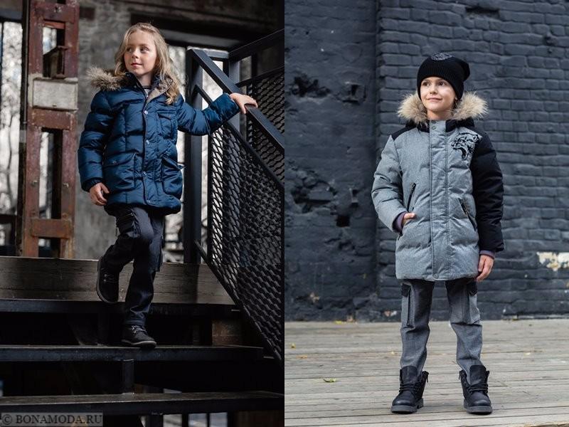 Детская коллекция Choupette осень-зима 2017-2018 - куртки пуховики для мальчиков