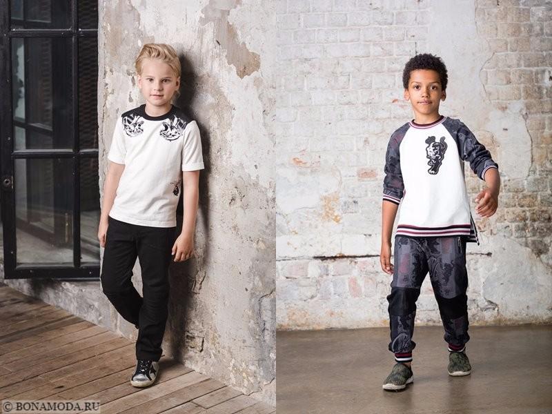 Детская коллекция Choupette осень-зима 2017-2018 - повседневная одежда для мальчиков