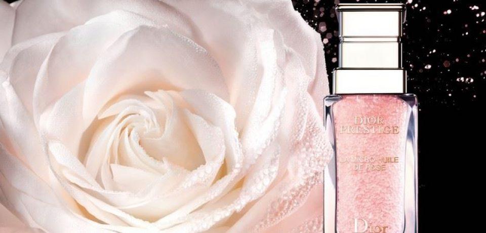 La Micro-Huile de Rose Dior Prestige – новое масло для лица с микрочастицами розы