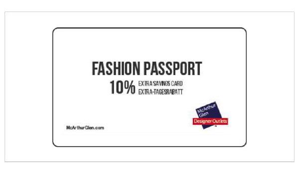 Акция «Чудеса осени» в дизайнерских аутлетах McArthurGlen - карта на скидку 10%