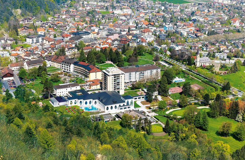Grand Resort Bad Ragaz в Швейцарии - один из лучших спа-курортов Европы